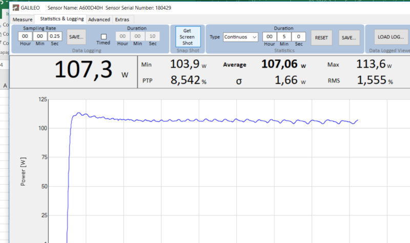 Informe curva potencia synrad firestar T100