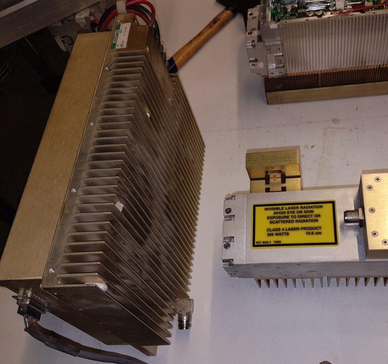 fuente RF Coherent DEOS D600