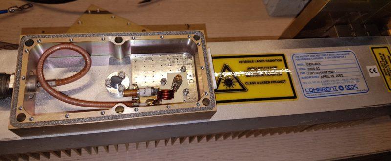 Adaptador impedancias coherent GEM60A