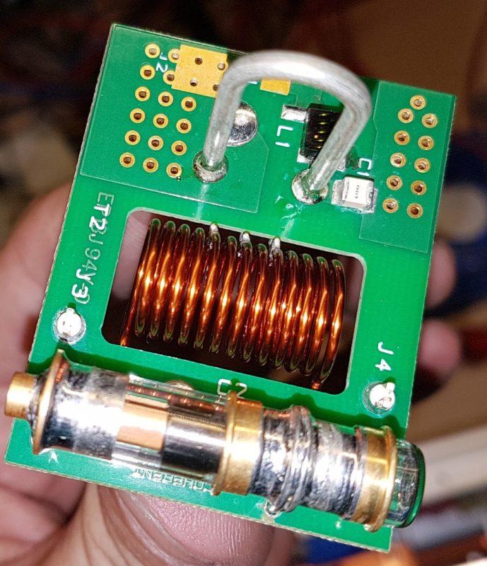 Etapa RF adaptador impedancia laser coherent E150