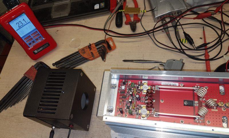 Test antes recarga Synrad V40 año 2008